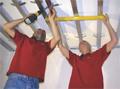 Εγκατάσταση ESWA. Εγκατάσταση σκελετού οροφής.