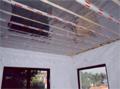 Εγκατάσταση ESWA. Εγκατεστημένο θερμαντικό φύλλο.